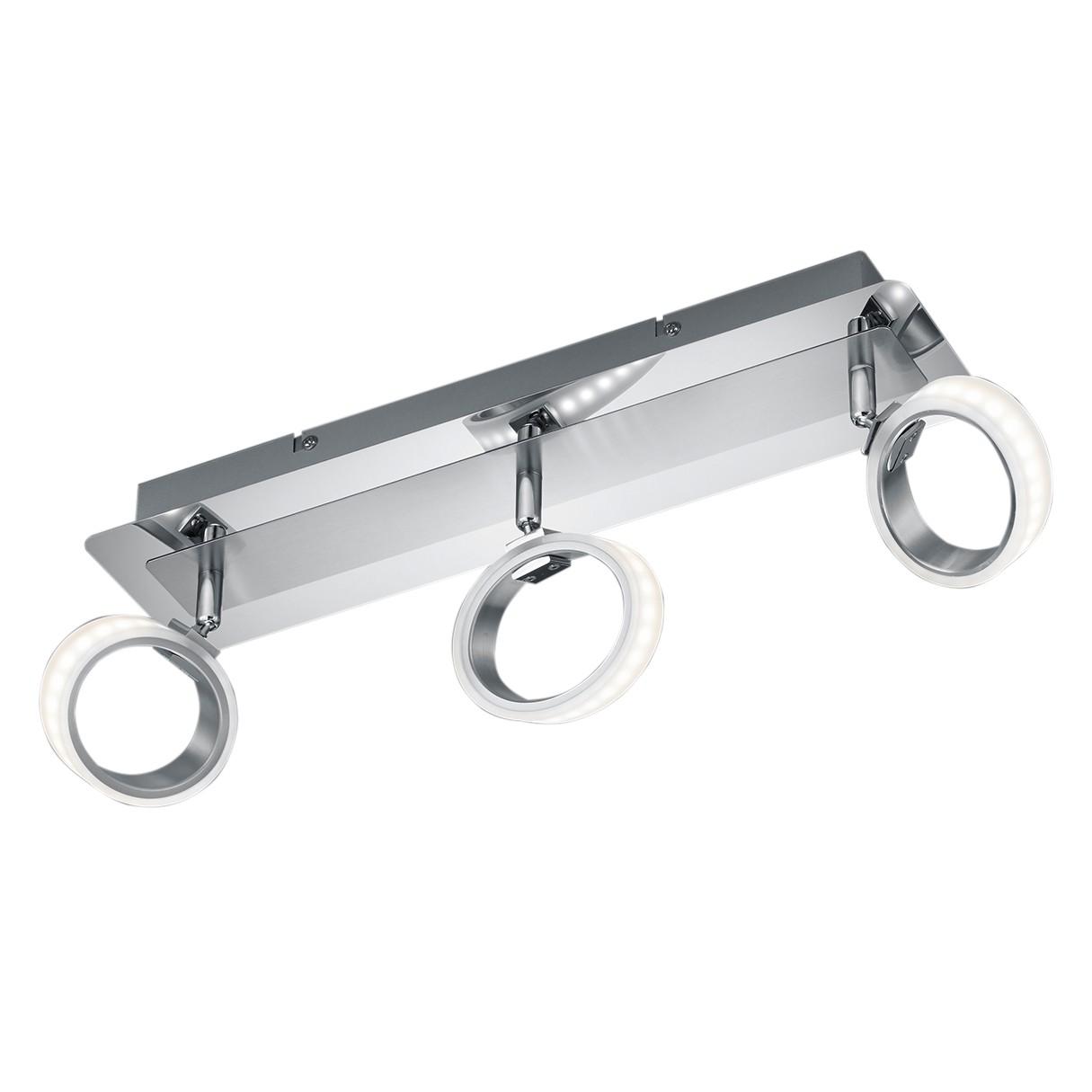 LED-Deckenleuchte Corland ● Metall / Acryl ● 3- Trio A+