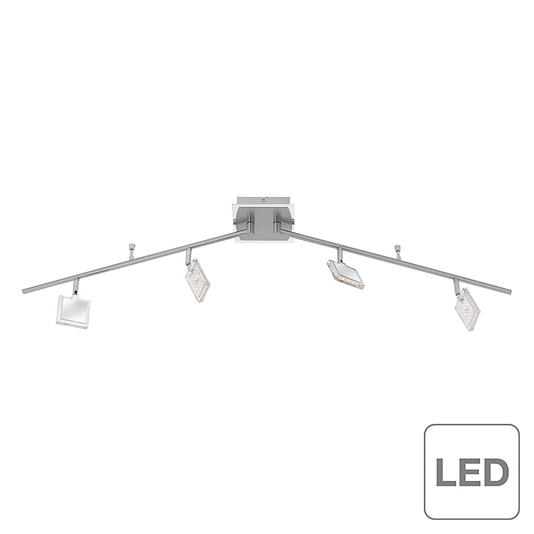 LED-Deckenleuchte Daan ● Metall ● Silber- Paul Neuhaus A+