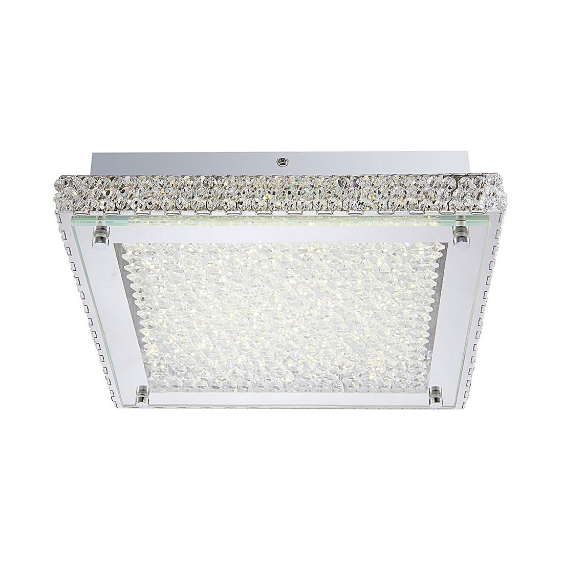 Deckenleuchte DL CHROM, 1XLED – Metall – Silber – 1-flammig, Globo Lighting kaufen