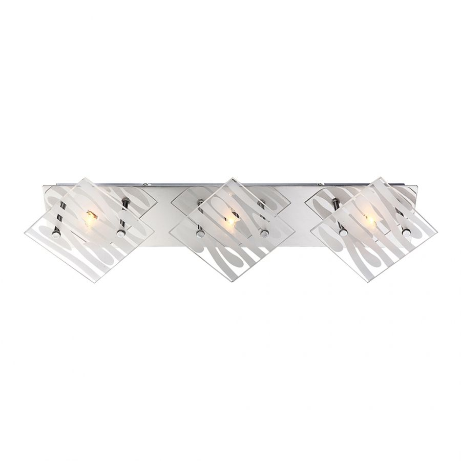Deckenleuchte Dimerom ● Metall ● Silber ● 3-flammig- Lux A++