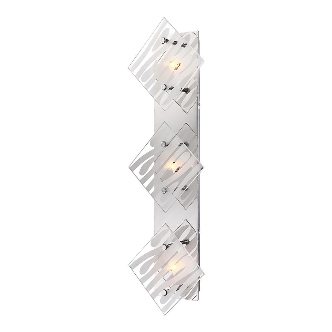 EEK A++, Deckenleuchte DL METALL CHROM, 3XG9 – Metall – Silber – 3-flammig, Globo Lighting bestellen