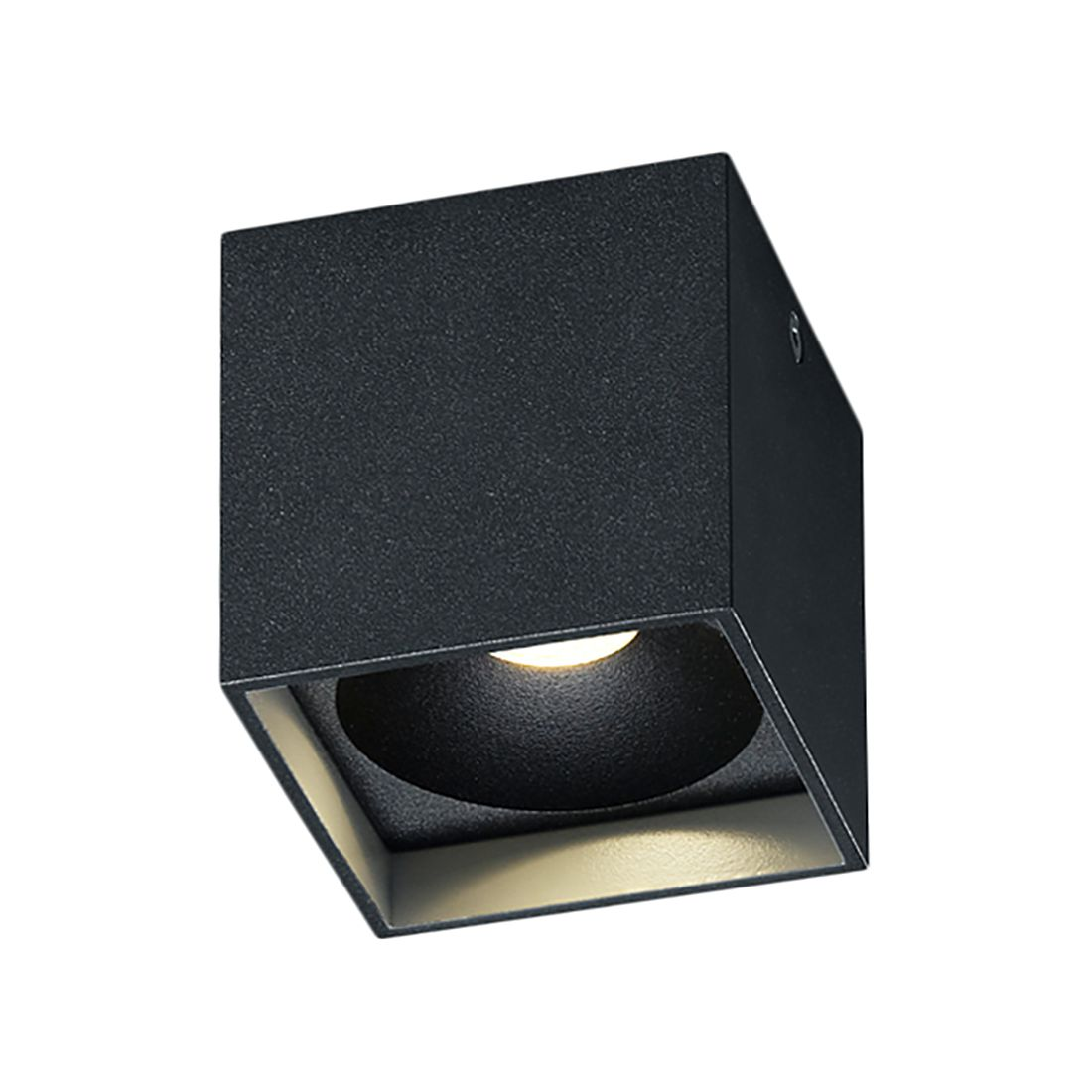 deckenleuchte dora 1 metall schwarz helestra a g nstig. Black Bedroom Furniture Sets. Home Design Ideas