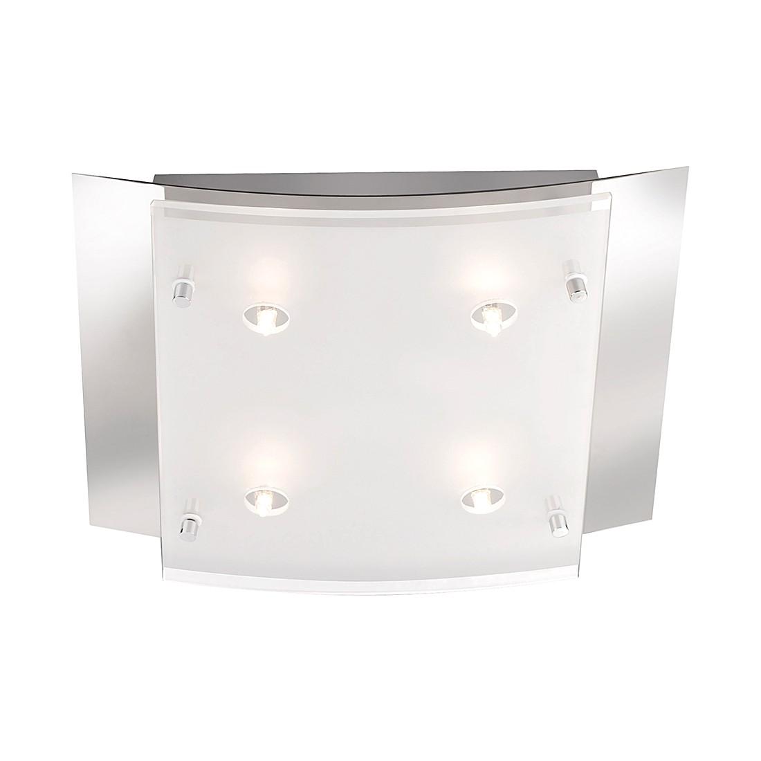 Deckenleuchte Edna II - 4-flammig Deckenleuchte M6 Licht - Spot1 - Nickel - 4-flammig, Fischer Leuchten