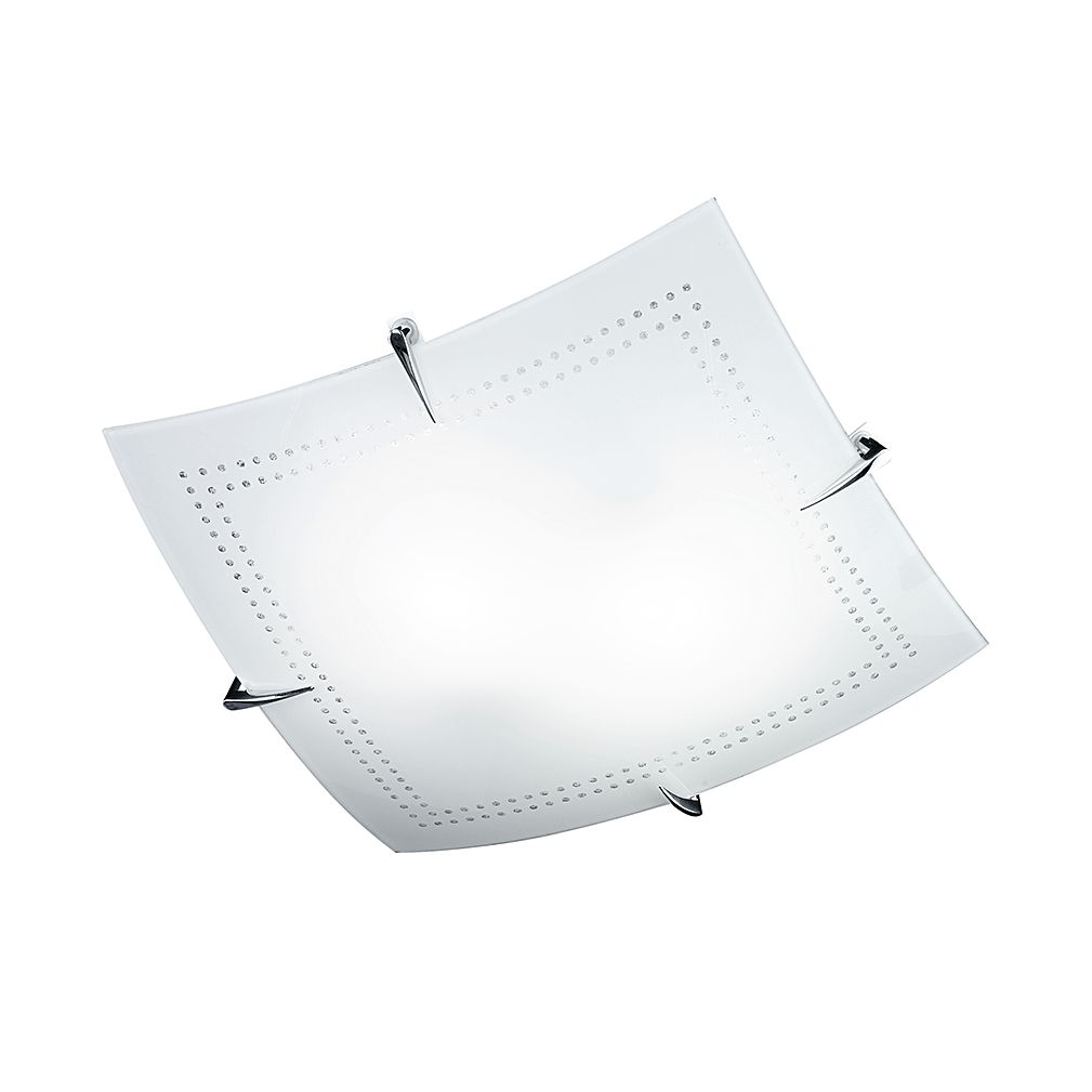 EEK A++, Deckenleuchte Eike – Weiß – 2-flammig, Honsel günstig kaufen