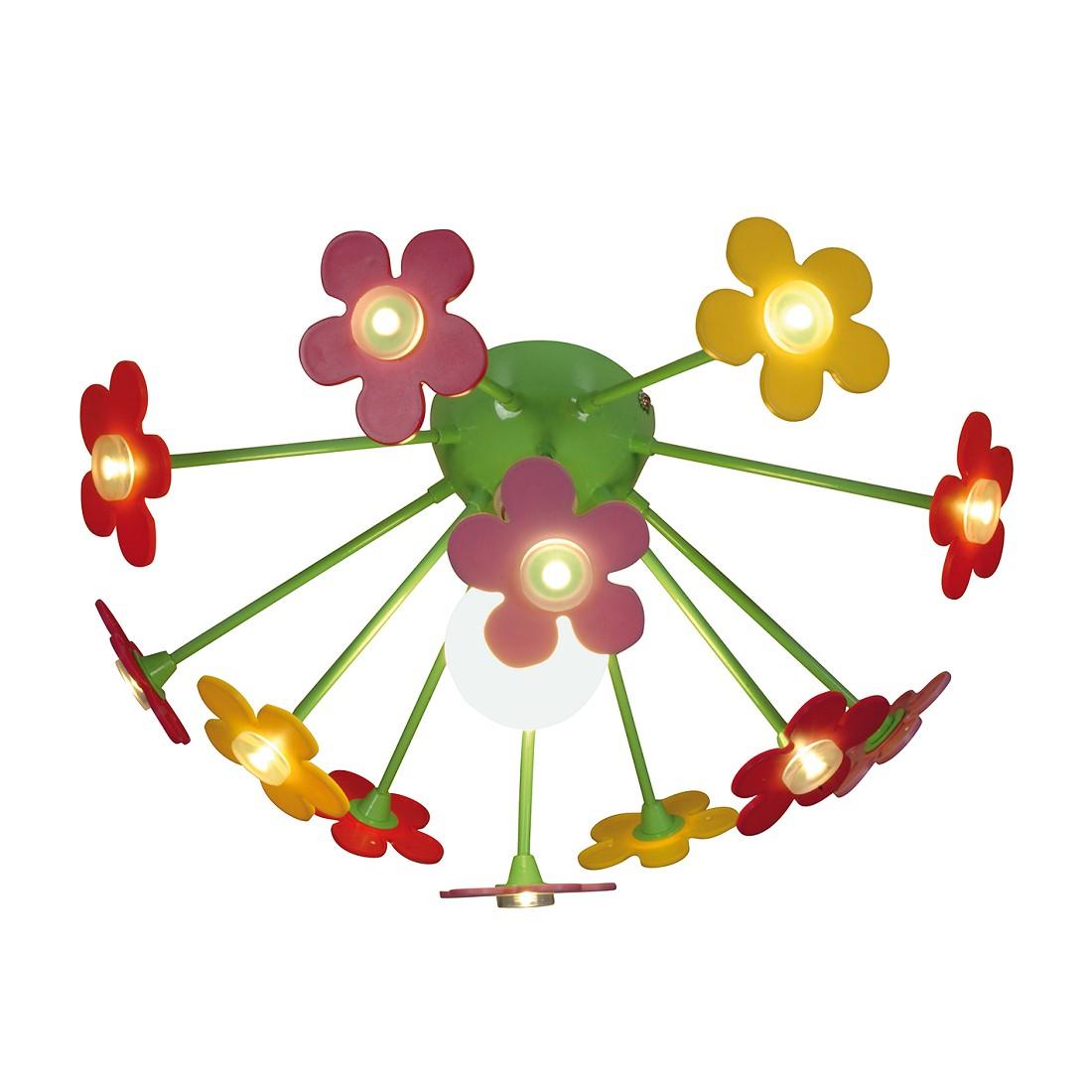 Deckenleuchte Flower ● Metall ● Multicolor ● 1-flammig- Näve A++