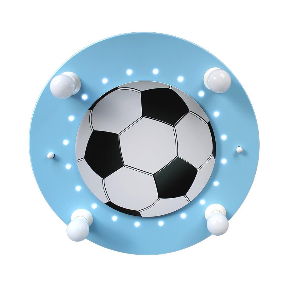 Deckenleuchte Fußball 4/20 ● Holz ● 4-flammig- Elobra A+