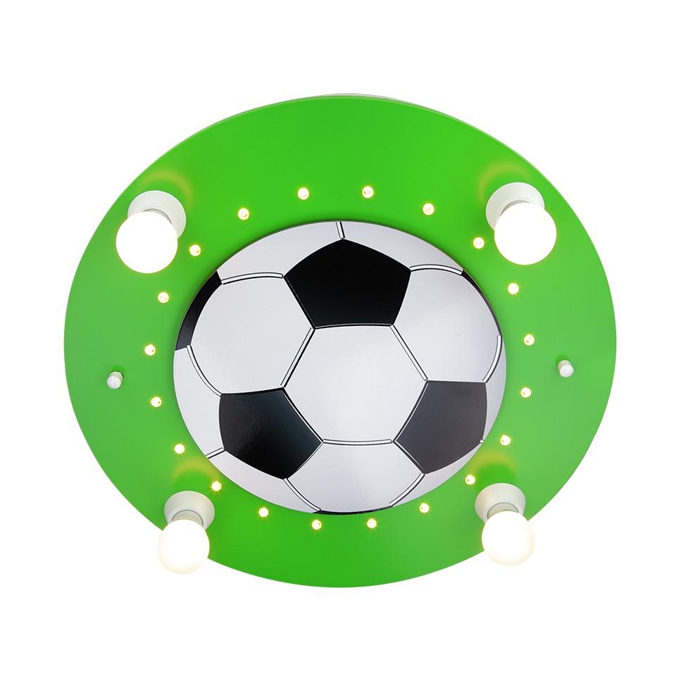 EEK A+, Deckenleuchte Fußball 4/20 – Holz – 4-flammig, Elobra online bestellen