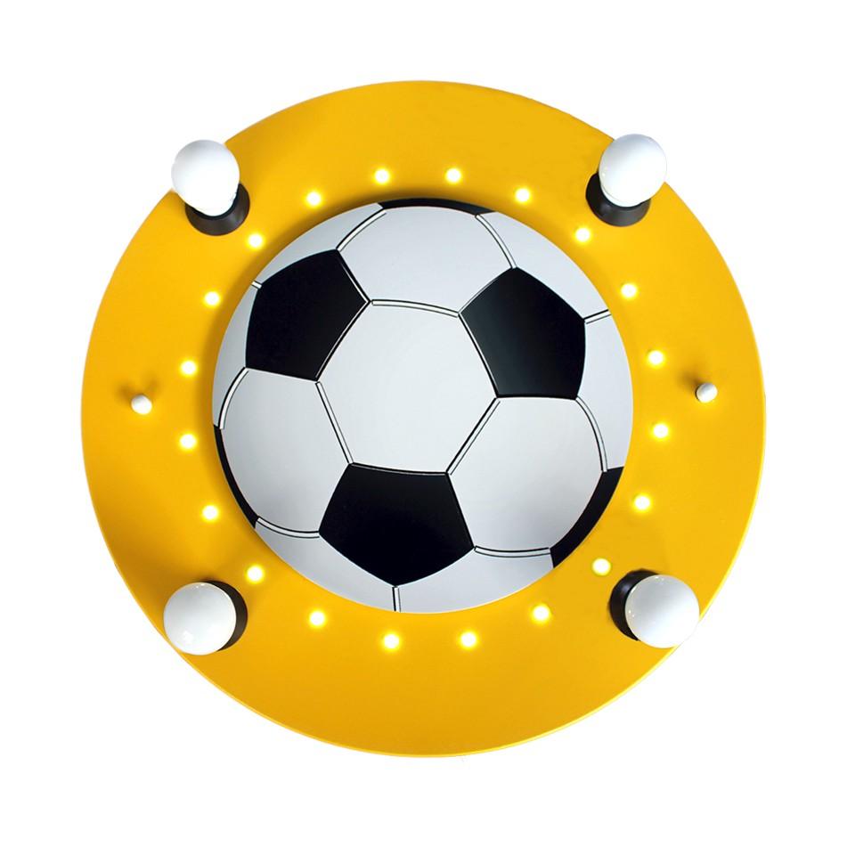 EEK A+, Deckenleuchte Fußball 4/20 – Holz – 4-flammig, Elobra günstig bestellen