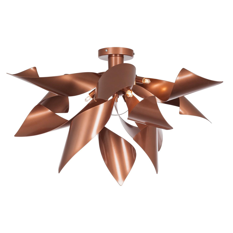 deckenleuchte ginger metall braun 6 flammig lampadina a online kaufen. Black Bedroom Furniture Sets. Home Design Ideas