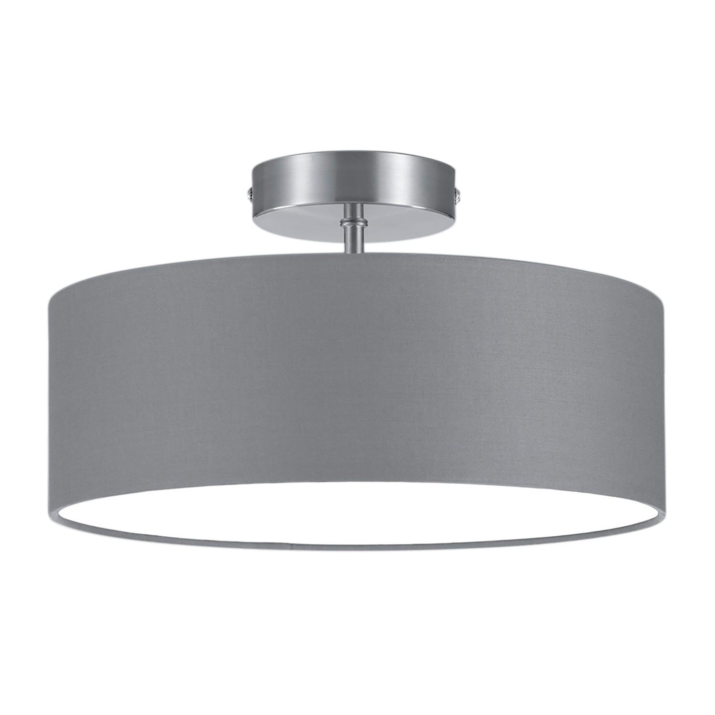 deckenleuchte shima ii grau wei deckenlampe deckenbeleuchtung wohnzimmer ebay. Black Bedroom Furniture Sets. Home Design Ideas