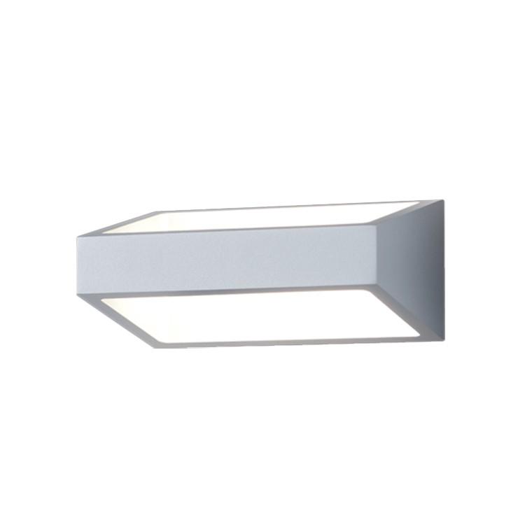EEK A+, LED-Außenleuchte Hold Aluminium - Silber & Grau, Helestra