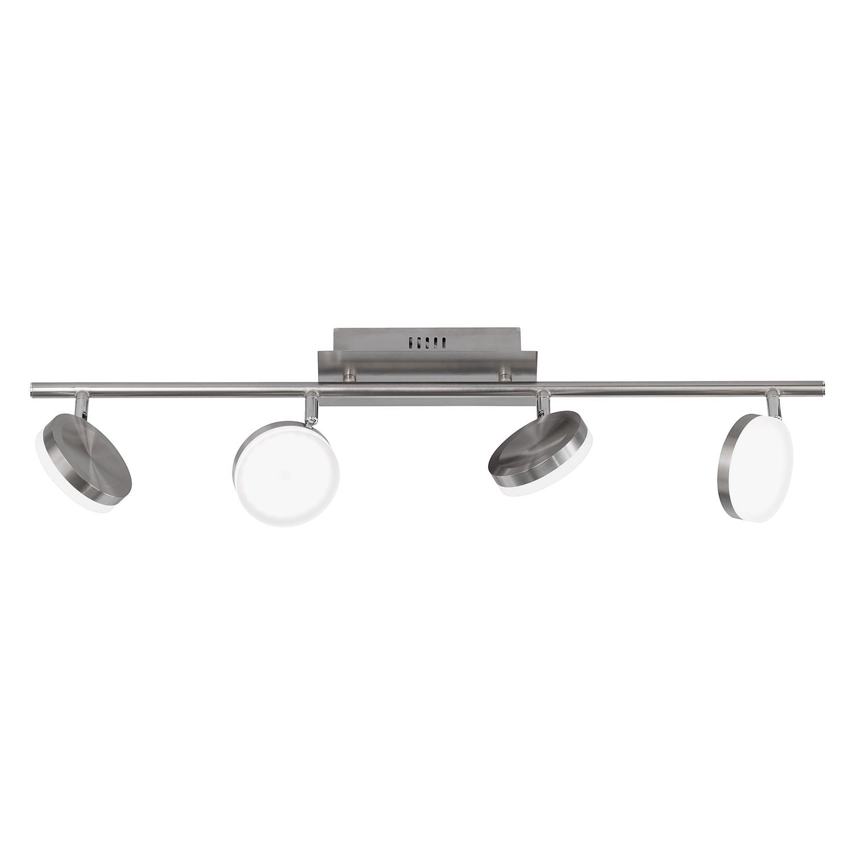 LED-Deckenleuchte Hook II ● Metall / Acrylglas ● 4- Wofi A+
