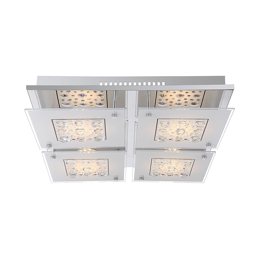 Deckenleuchte LOUISE – Metall/Glas – 4-flammig, Globo Lighting günstig bestellen