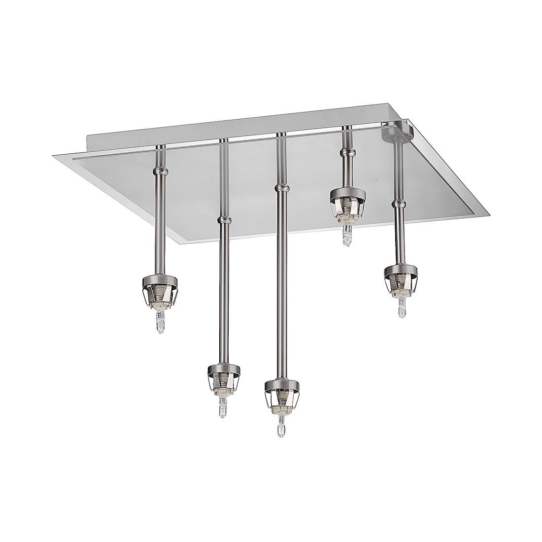 EEK C, Deckenleuchte M6 Licht / Micro 3 (ohne Glas) – Nickel/Metall – 5-flammig, Fischer Leuchten bestellen
