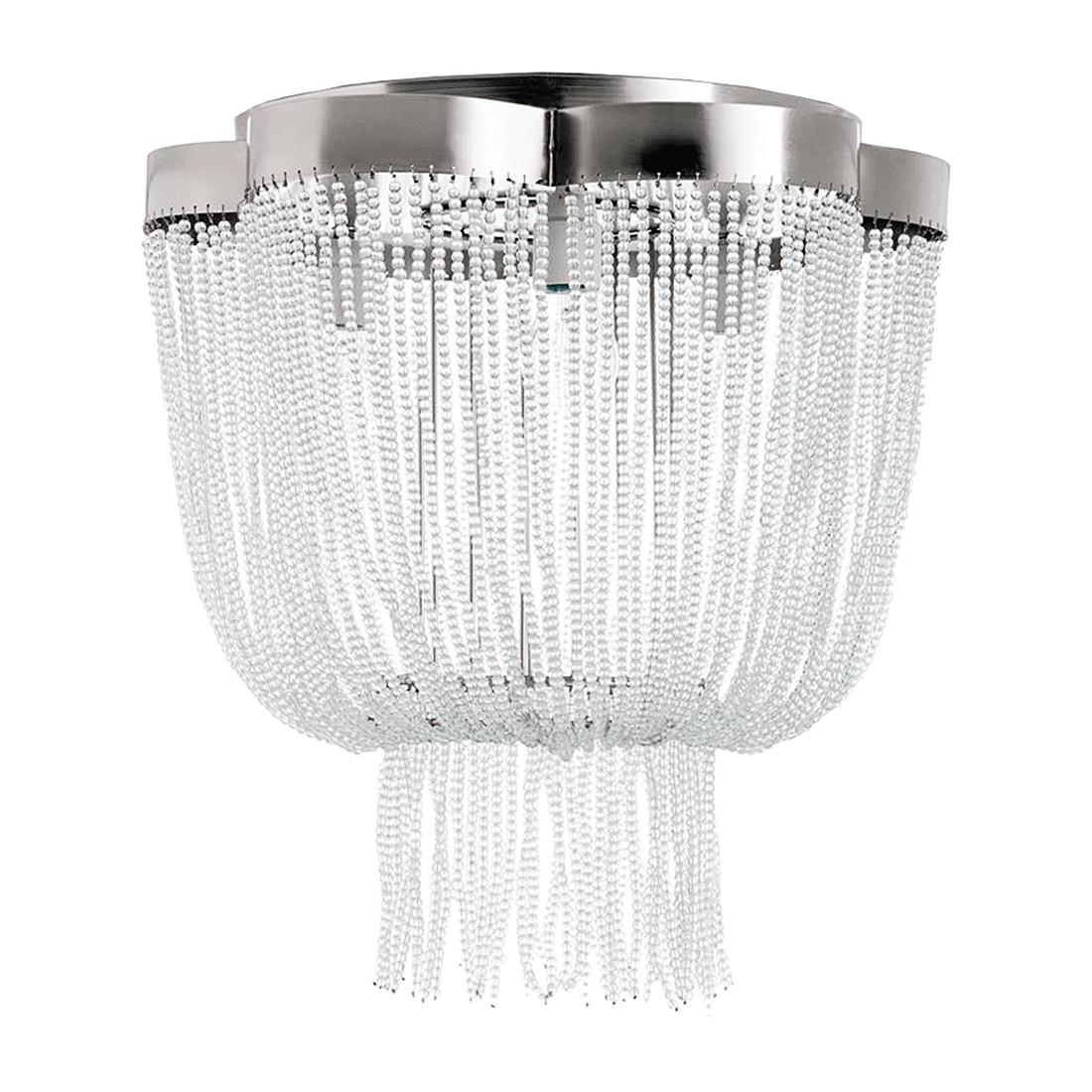 Deckenleuchte – Metall/Glas – Weiß, PureDay bestellen
