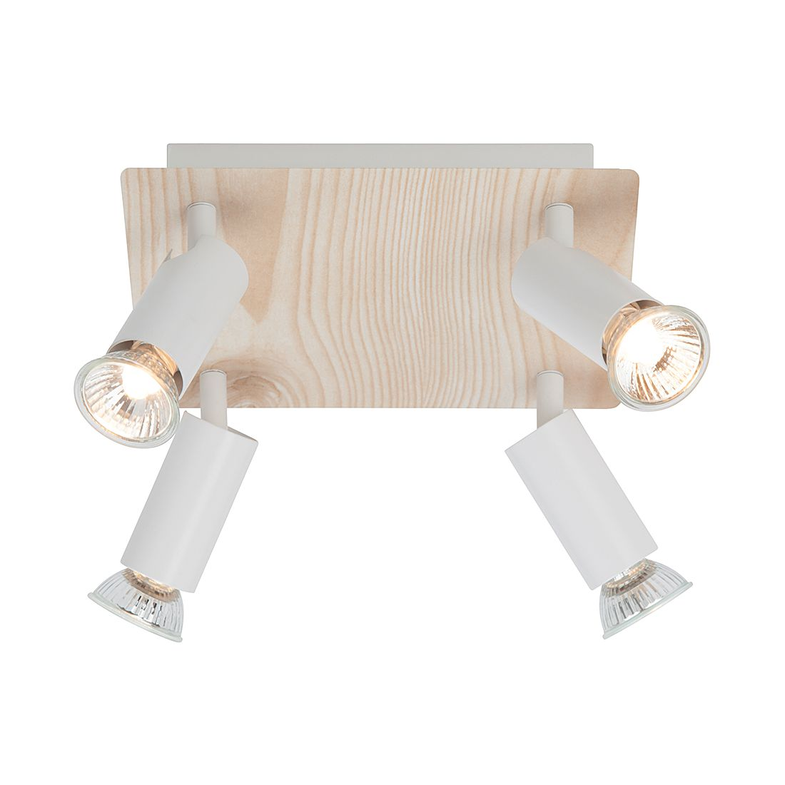 Wandleuchte Sally- Aluminium/Metall – Weiß – 4-flammig, Brilliant günstig kaufen
