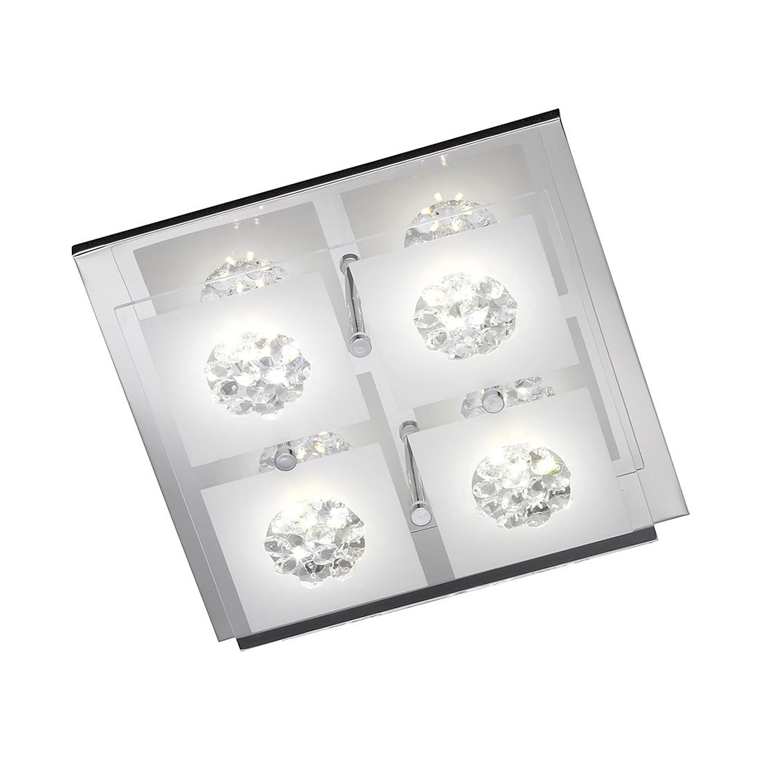 Deckenleuchte REIMS ● Metall/Glas ● 4-flammig- Lux A+