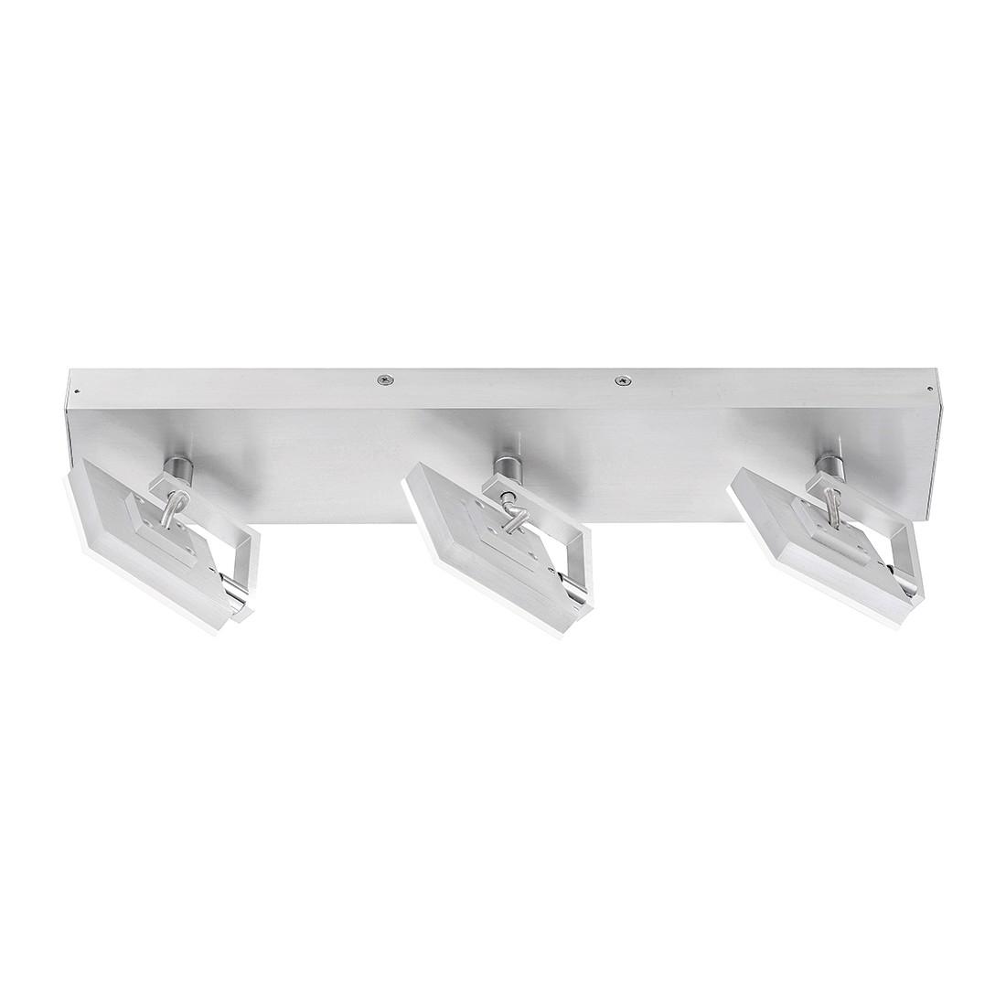 Deckenleuchte Reinberg – Aluminium matt / Metall, verchromt – 3-flammig, FLI Leuchten günstig online kaufen