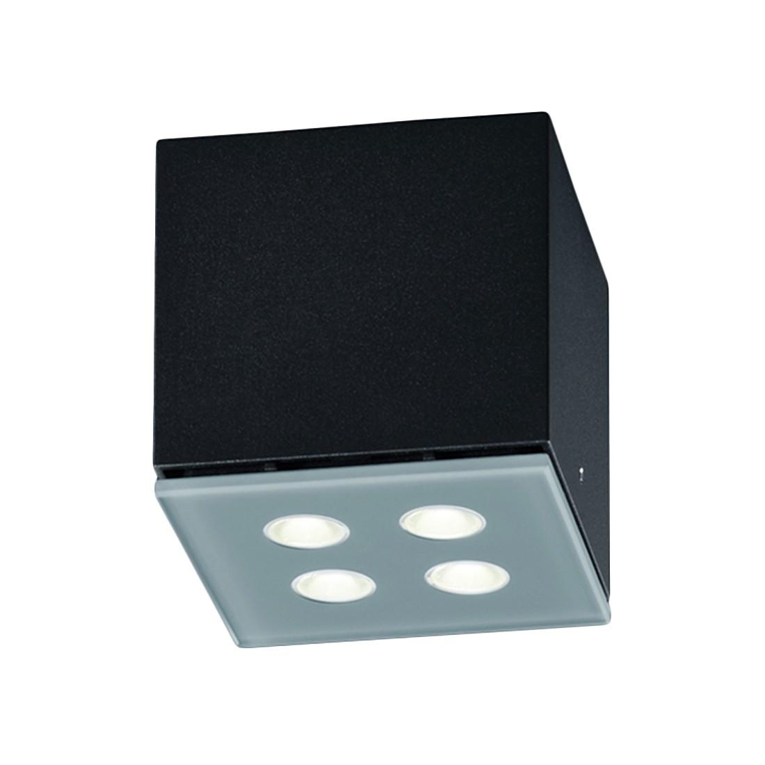 deckenleuchte river metall glas schwarz helestra a kaufen. Black Bedroom Furniture Sets. Home Design Ideas