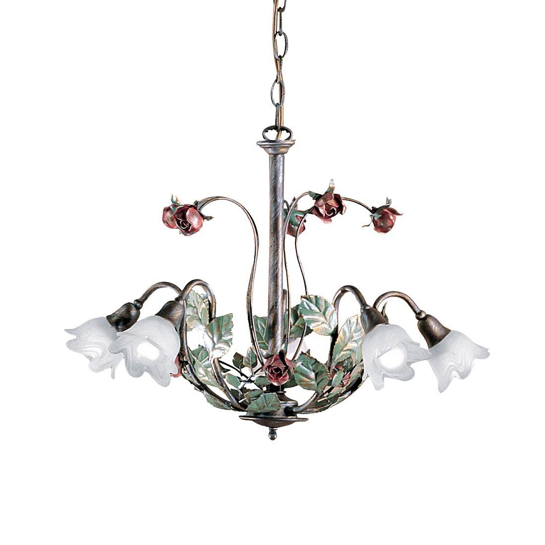 pendelleuchte rosaio metall glas bronze wei 5 flammig hans k gl a g nstig online kaufen. Black Bedroom Furniture Sets. Home Design Ideas