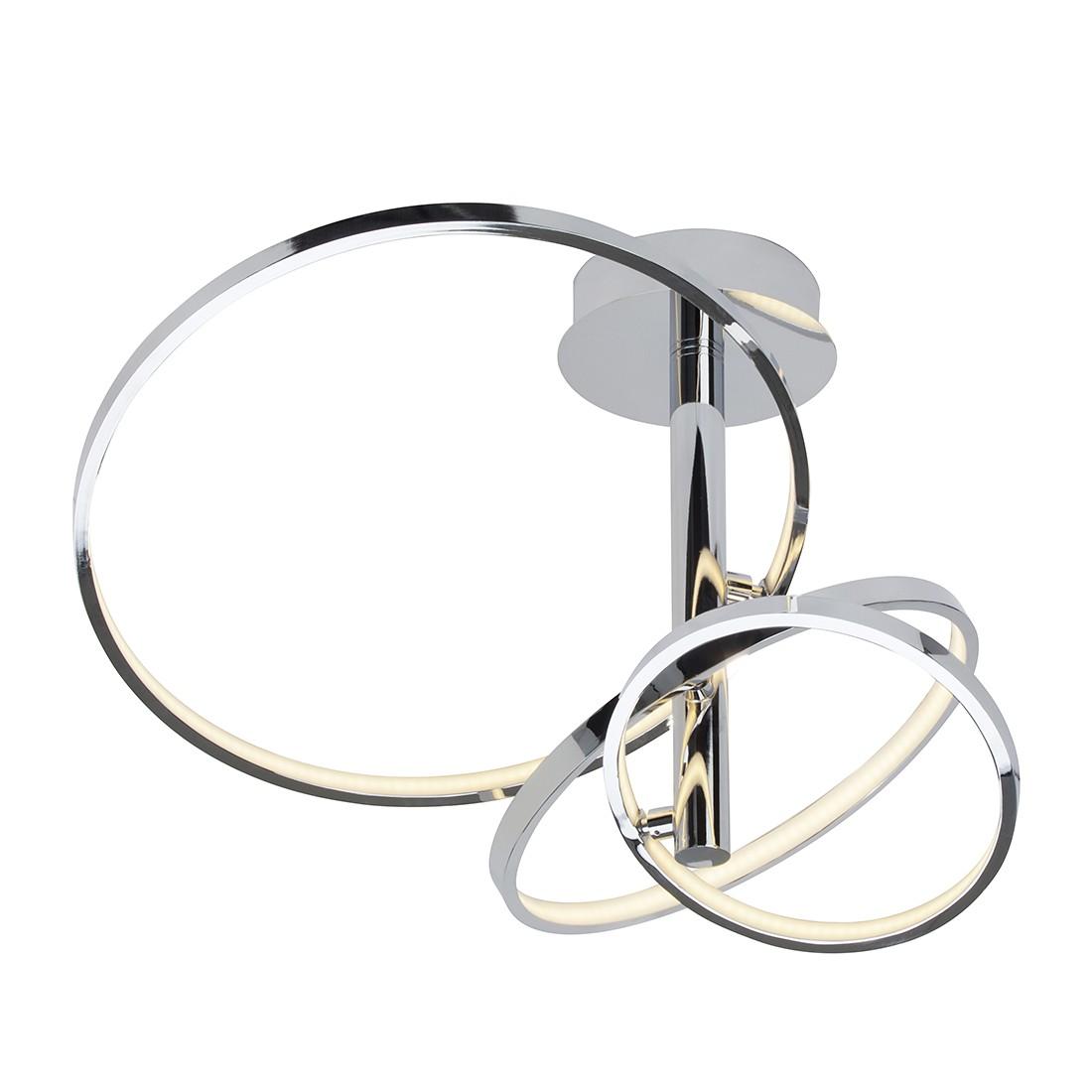 Deckenleuchte Saturn ● Metall ● Silber ● 1-flammig- Brilliant A+