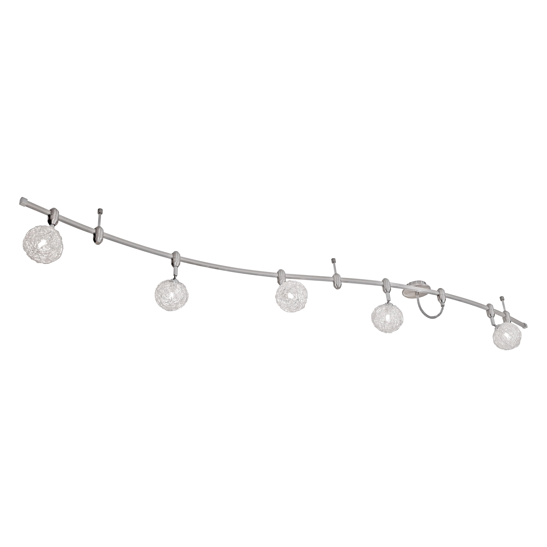 EEK A++, Deckenleuchte Schienensystem WOMBLE – Stahl/Aluminium – 5-flammig Deckenleuchte Schienensystem WOMBLE – 5-flammig, Paul Neuhaus kaufen