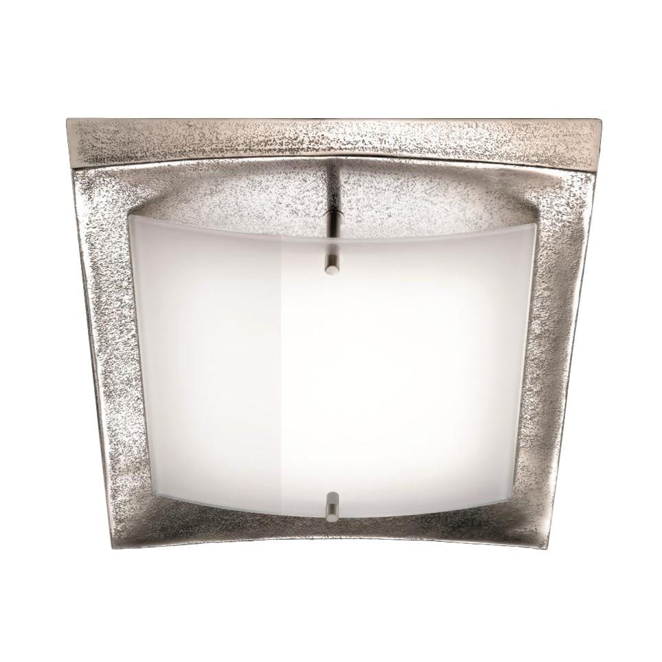 LED-Deckenleuchte 1-flg. Nickel antik ● SHINE-ALU- Fischer Leuchten A+