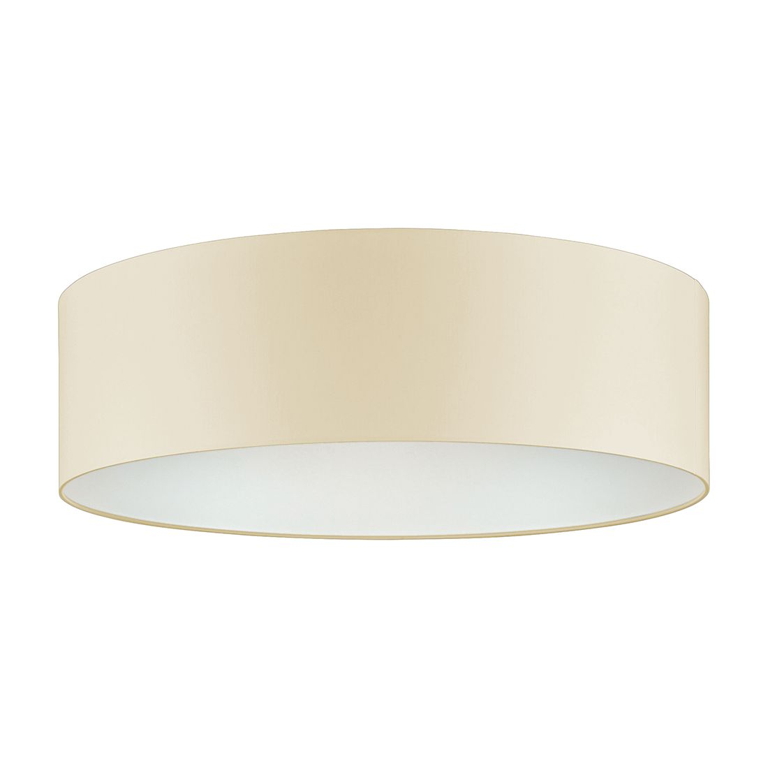 deckenleuchte 3 flg beige 60 cm rund shine loft fischer. Black Bedroom Furniture Sets. Home Design Ideas