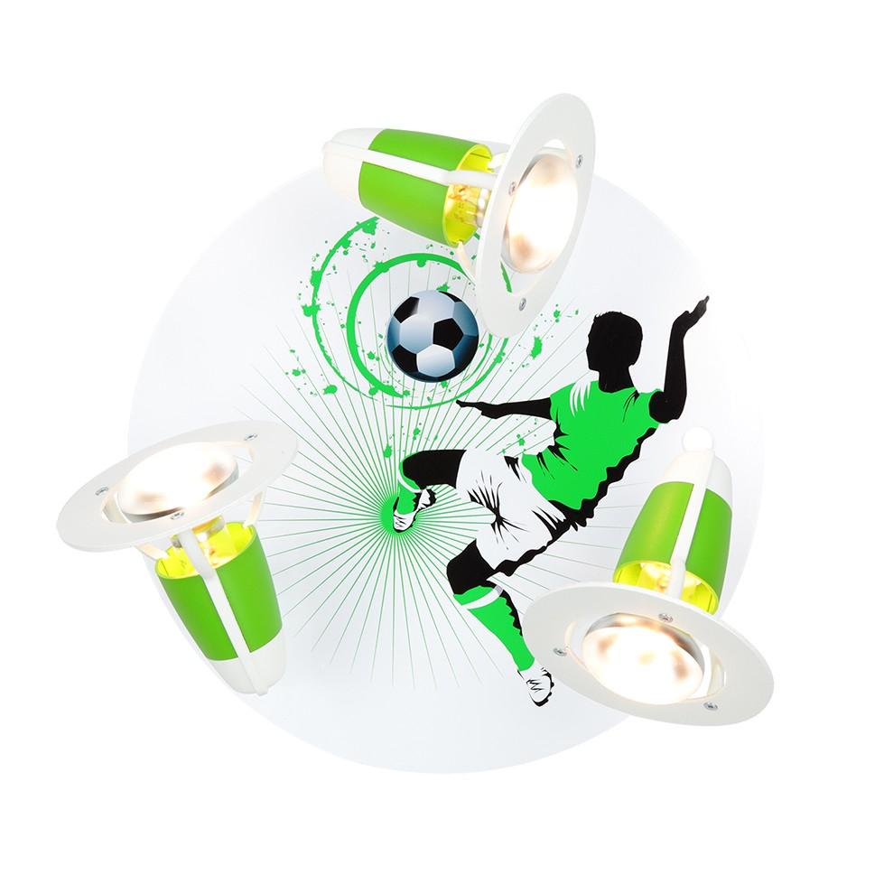 Deckenleuchte Soccer ● Holz ● 3-flammig- Elobra A++