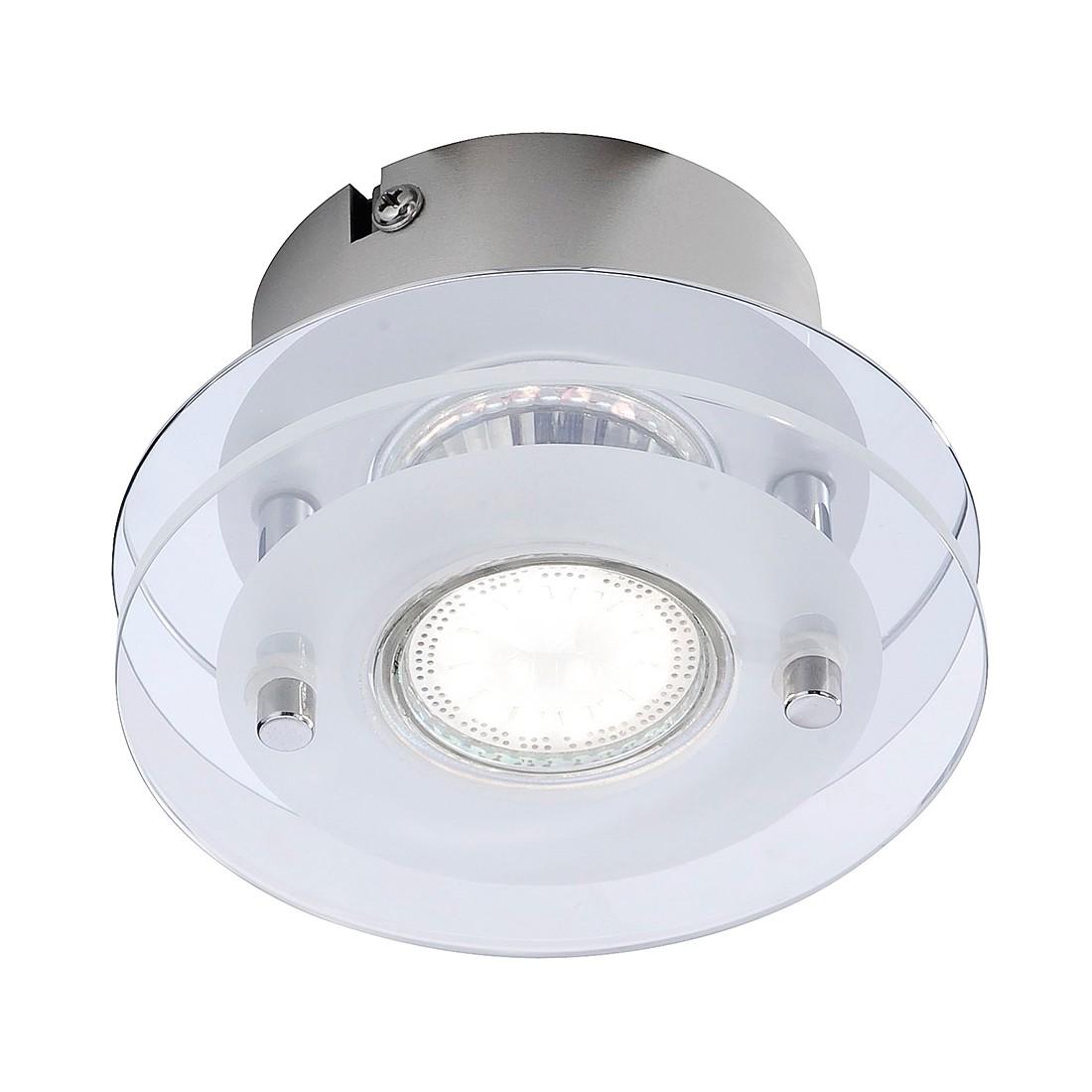 Deckenleuchte Stefan by Leuchten Direkt ● Eisen ● Silber ● 1-flammig- Leuchten Direkt A++