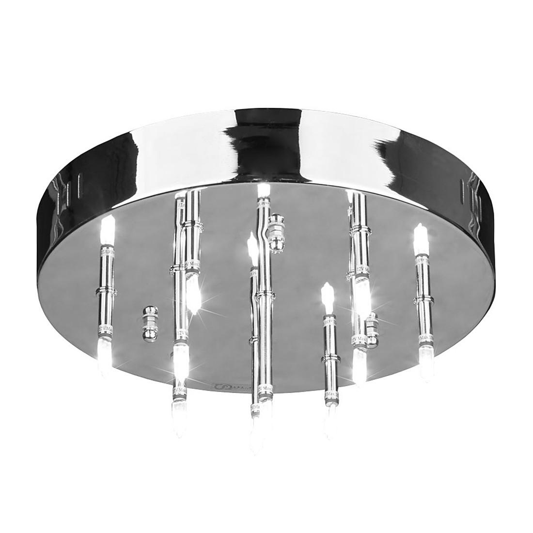 Deckenleuchte Selus – 10-Flammig – Aluminium Nickel-Matt, s`luce jetzt bestellen