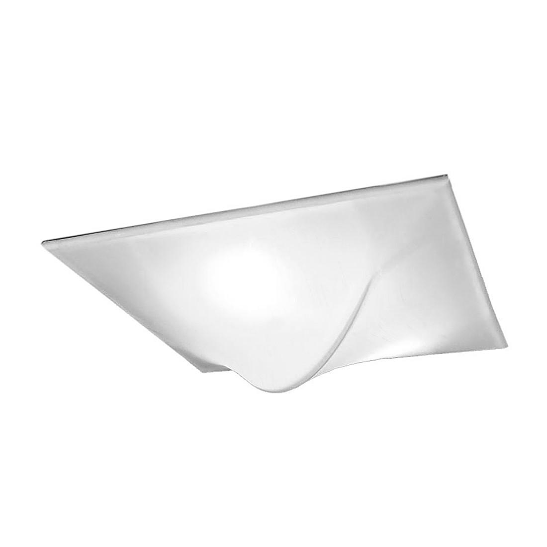 Deckenleuchte Turn – 3-Flammig – Aluminium, Stoff Weiß, s`luce jetzt bestellen
