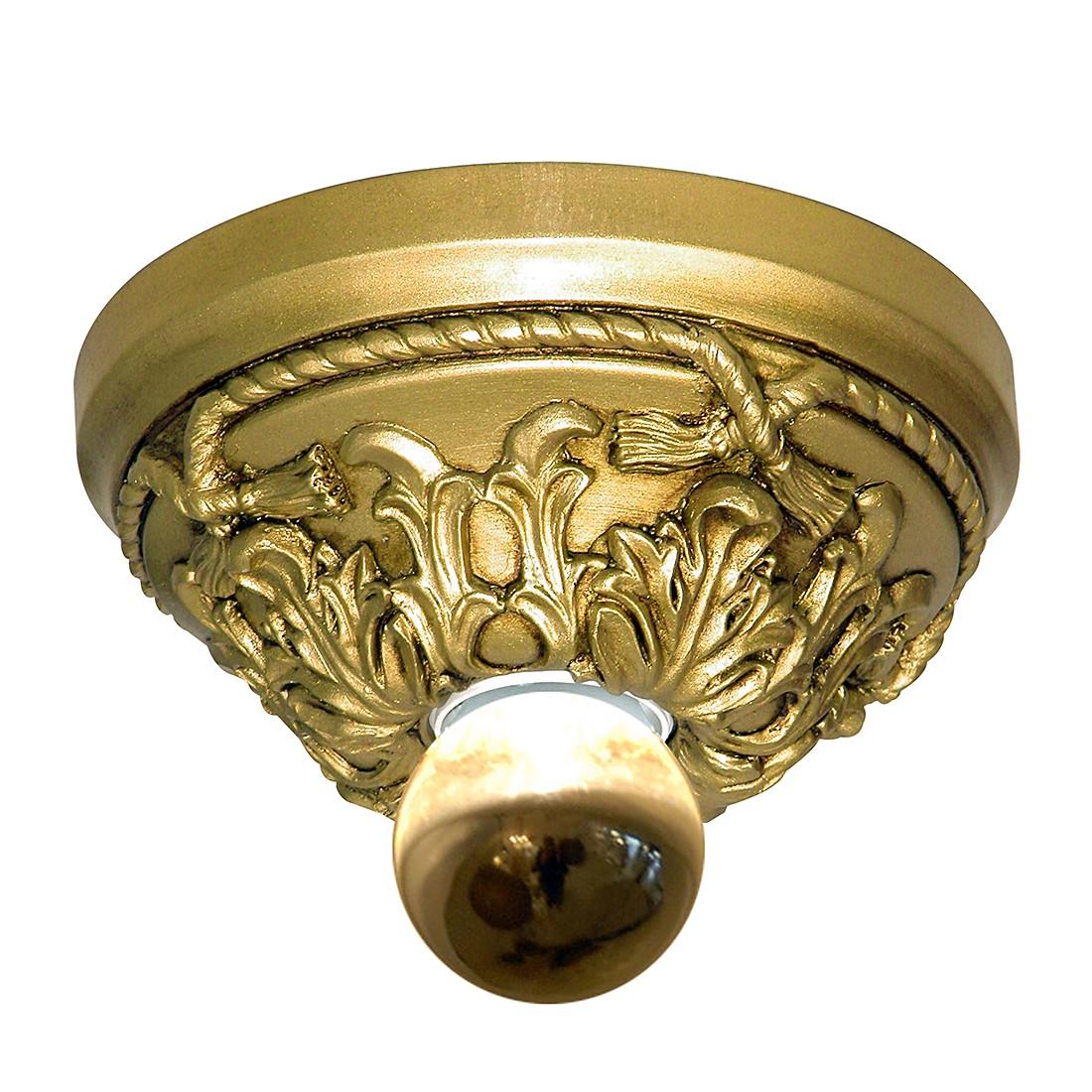Wandleuchte Kuso – Ø15, Gold-Patiniert – Kunstharz Goldfarben, s`luce günstig kaufen