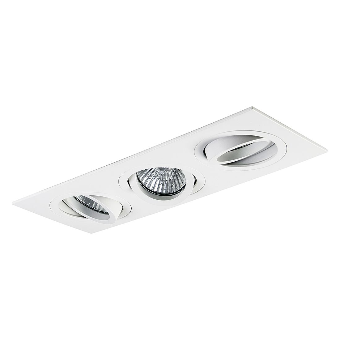Einbauleuchte Taro Triple ● Aluminium ● 3-flammig- Illumina A++