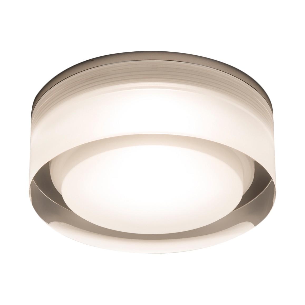 Deckenleuchte Vancouver 1-flammig ● Silber Metall- verchromt- Illumina A+