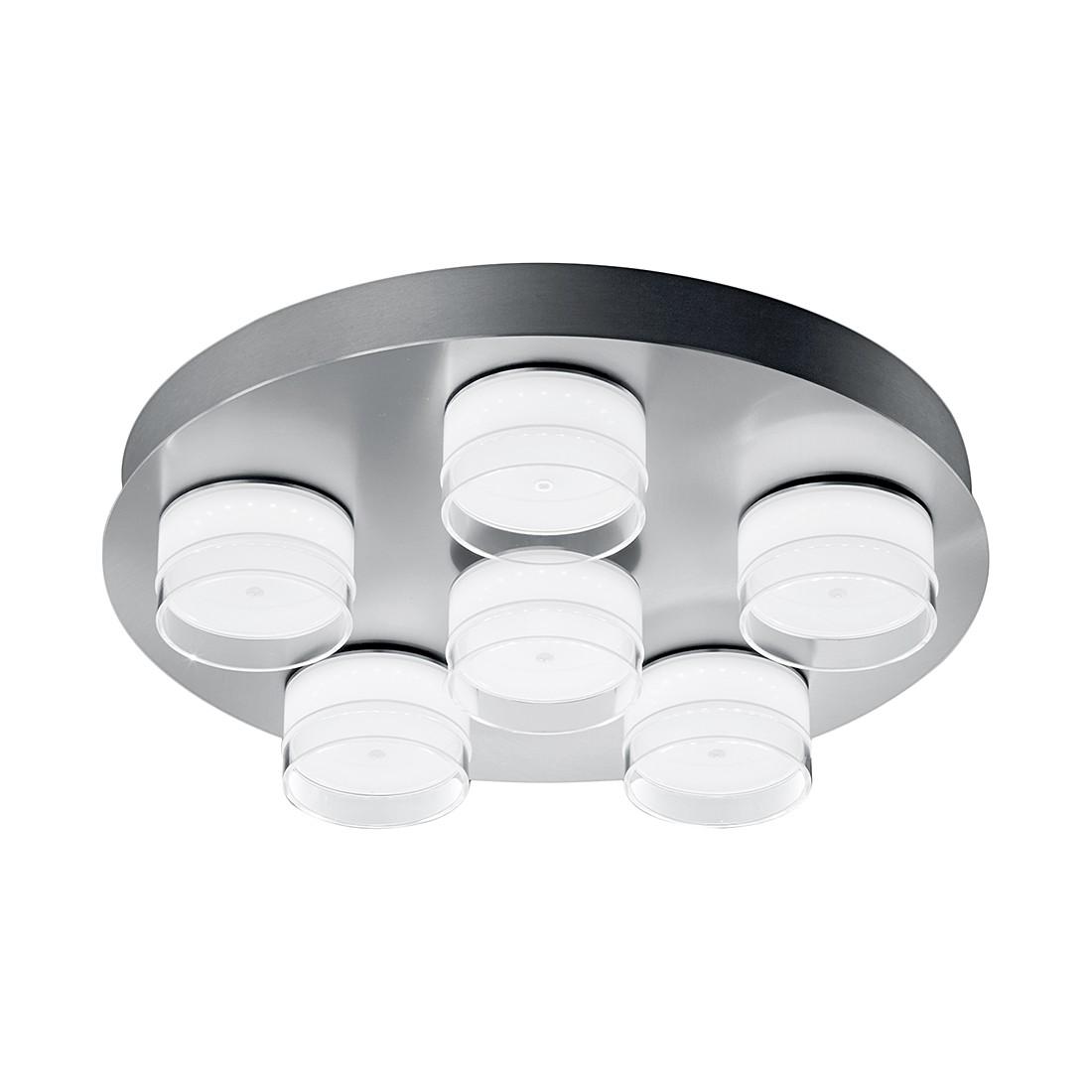 deckenleuchte yuma metall glas silber helestra a g nstig kaufen. Black Bedroom Furniture Sets. Home Design Ideas
