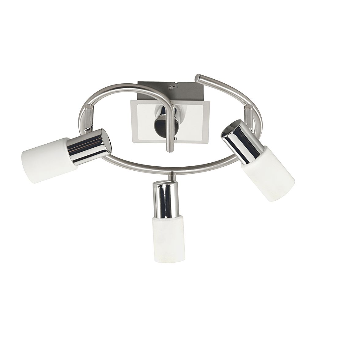 EEK A+, Deckenspirale BAS – Metall/Glas – 3-flammig, Action online kaufen