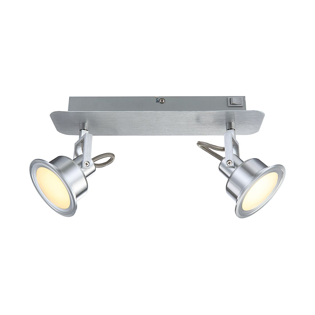 Deckenstrahler – Aluminium/Glas – 2-flammig, Globo Lighting bestellen