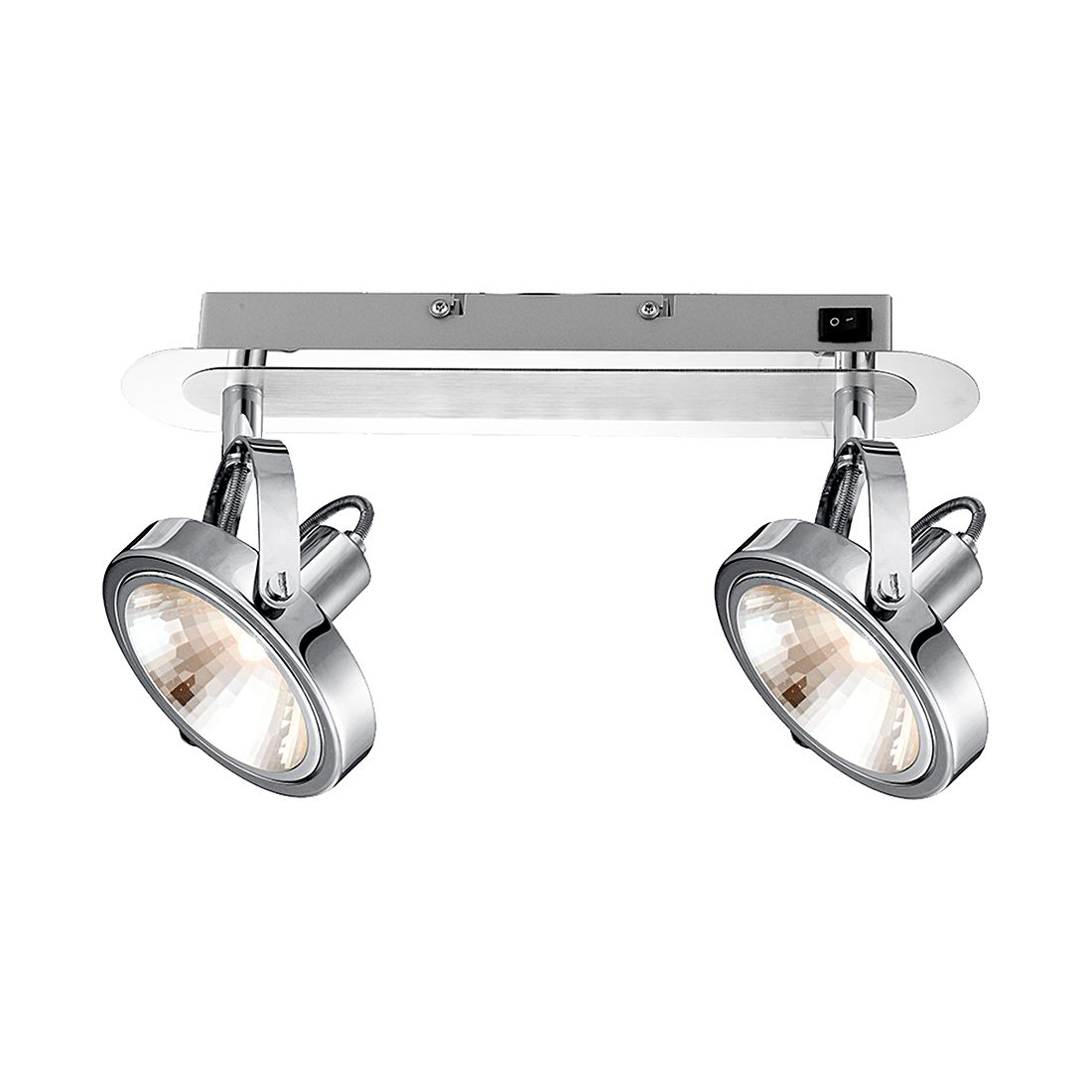 EEK A++, Deckenstrahler KIROGI – Metall – 2-flammig, Globo Lighting günstig online kaufen