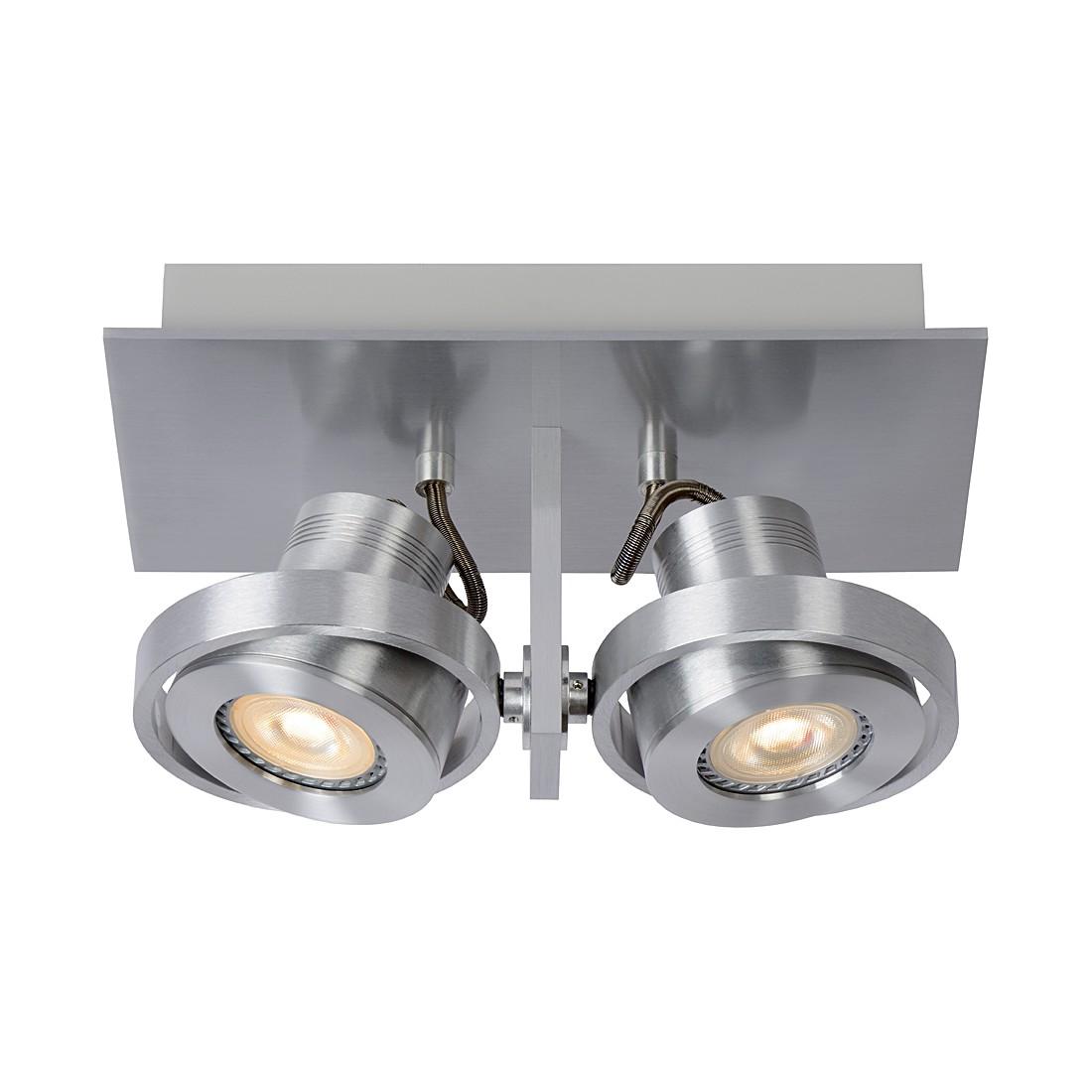 Deckenstrahler LUCI-2 LED – Aluminium – 2-flammig, Zuiver günstig