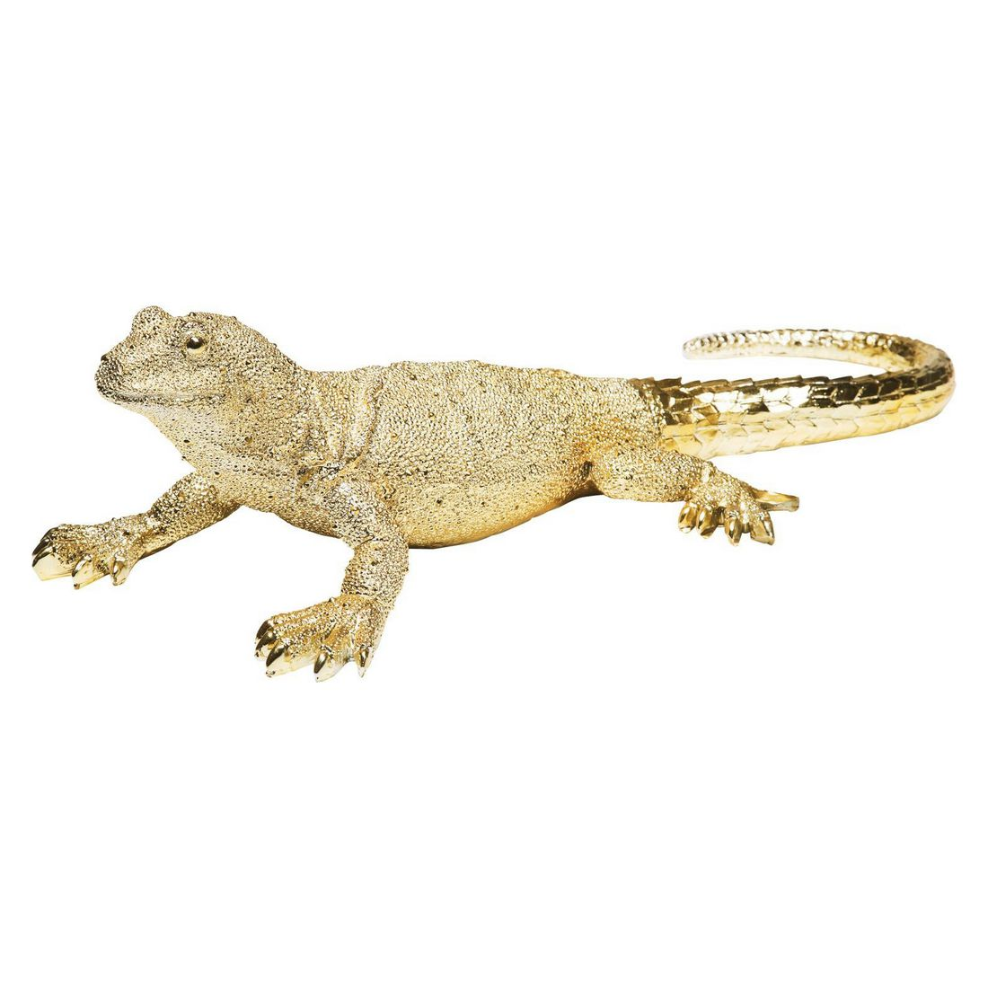 Deko Figur Lizard Gold Big – Polyresin Orange, Kare Design online bestellen
