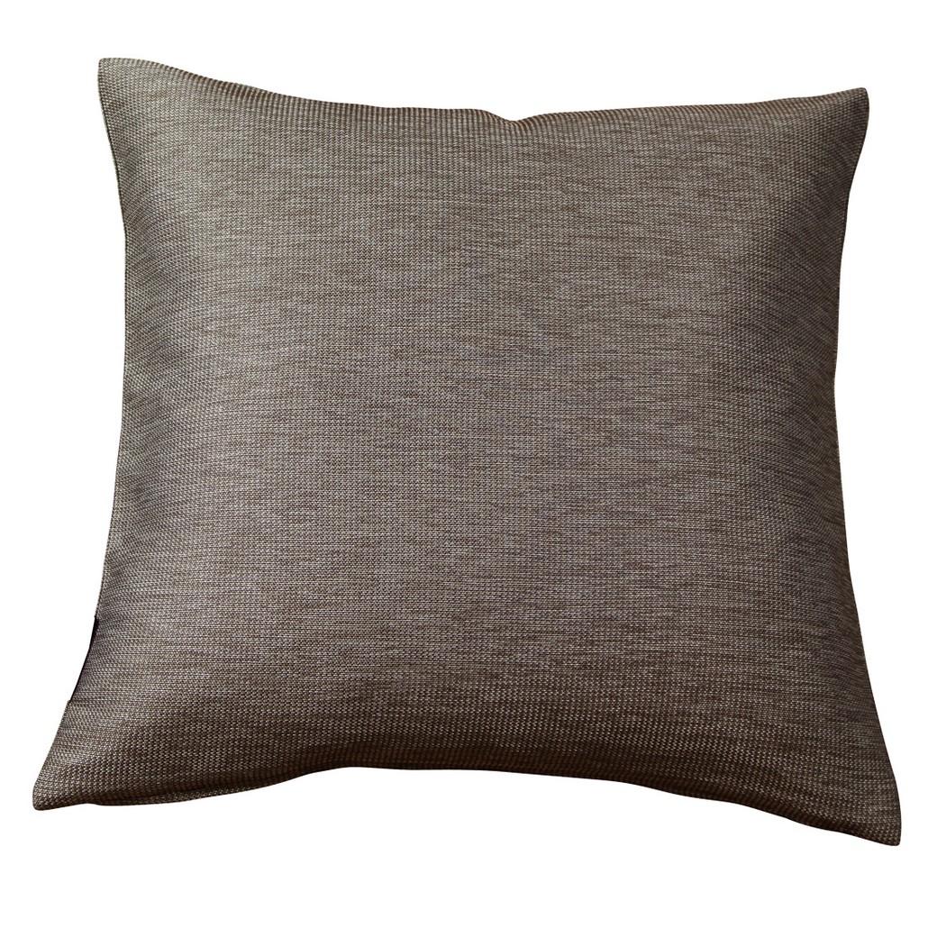 Dekokissen Kissenbezug Flavio (2er-/4er-/6er-Set) – Braun – (4er-Set) – 40×40 cm, MiBiento Living jetzt kaufen