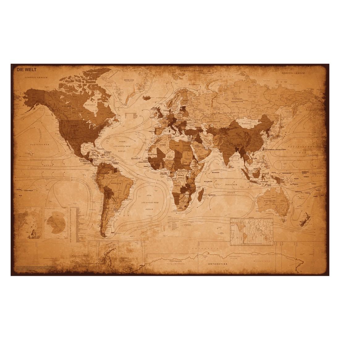 Decopanel Weltkarte antik, Reinders online kaufen