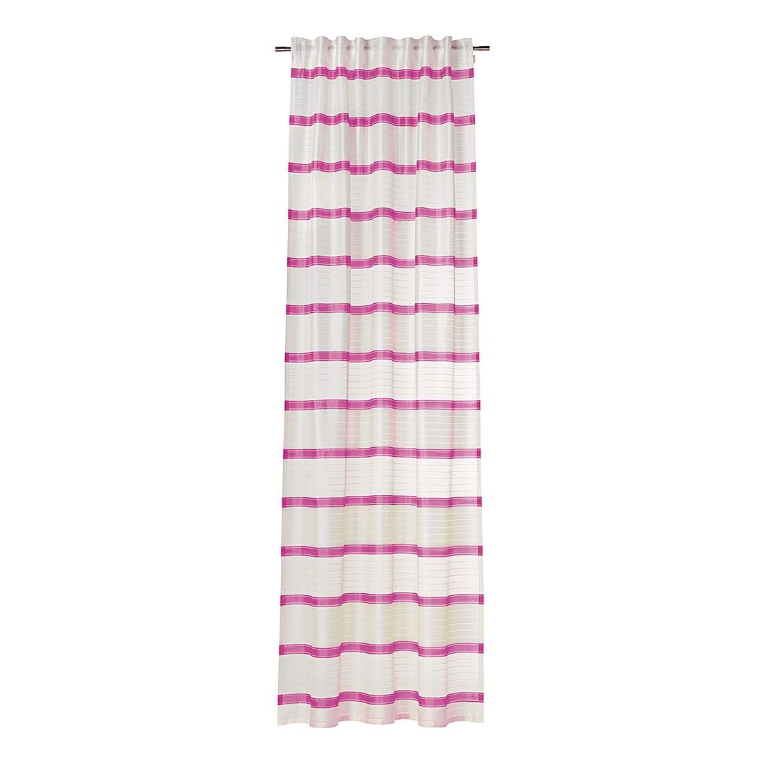 Dekoschal Clearly – Pink, Esprit Home günstig online kaufen