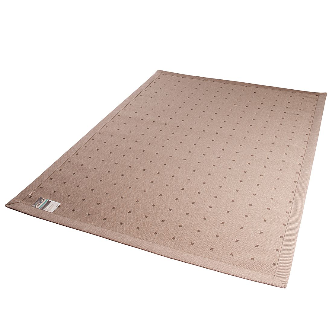In-/Outdoorteppich Naturino Classic Quadrate – Havanna – 80 x 250 cm, DEKOWE kaufen