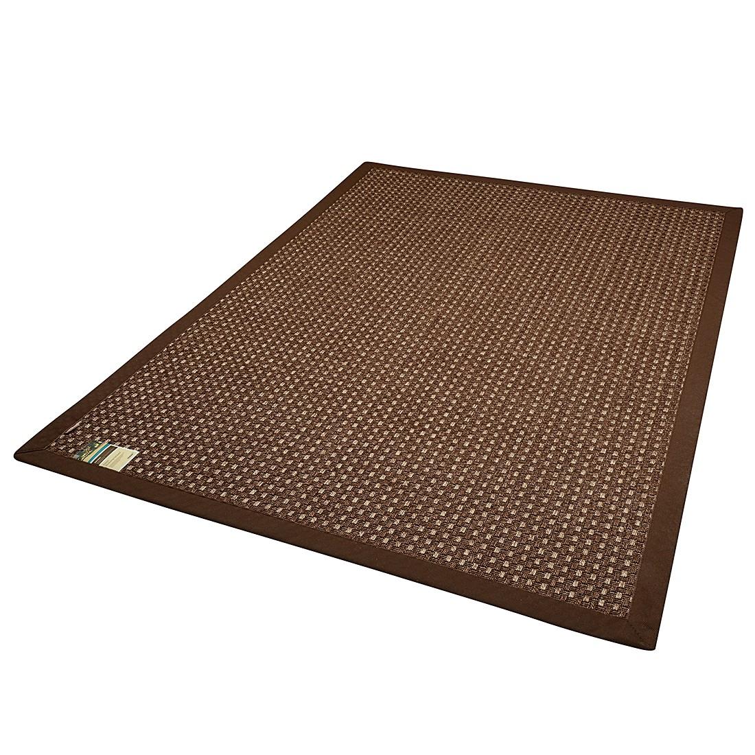 In-/Outdoorteppich Naturino Panama – Schokoladenbraun – 80 x 160 cm, DEKOWE jetzt bestellen