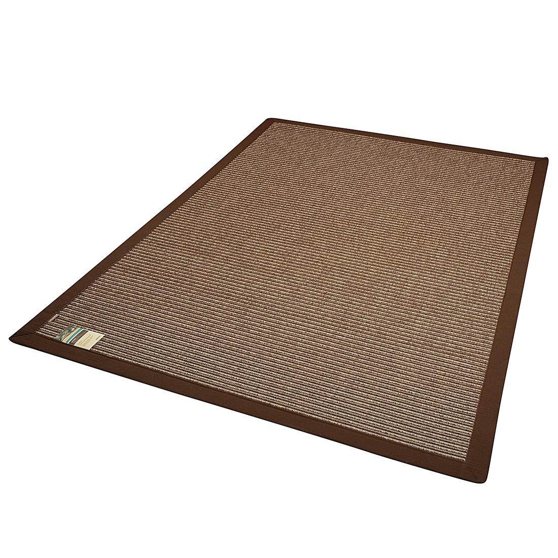 In-/Outdoorteppich Naturino Stripes – Schokoladenbraun – 80 x 160 cm, DEKOWE jetzt kaufen