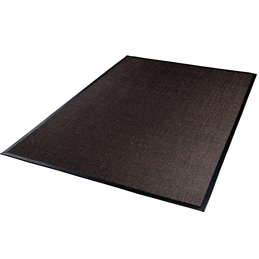 Teppich Medina – Schwarz / Dunkelbraun – 133 x 190 cm, DEKOWE bestellen