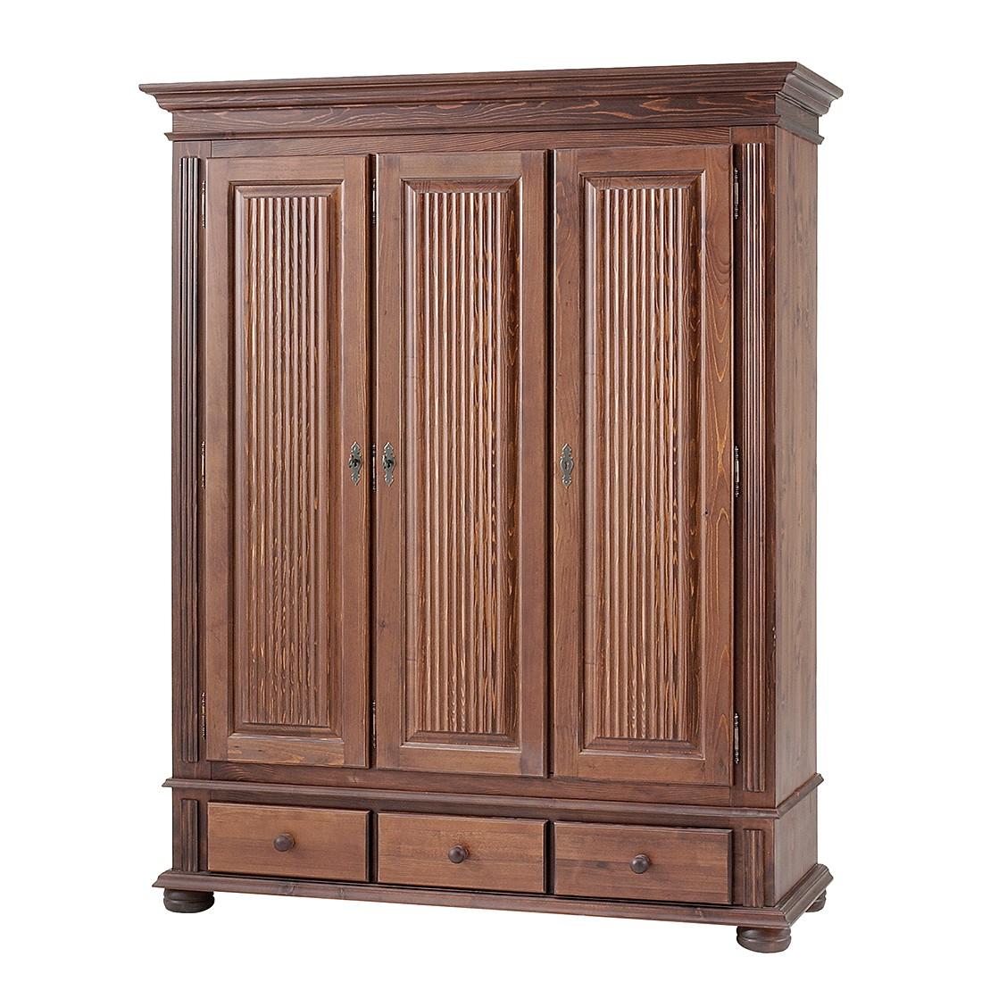 dielenschrank friedrich iii fichte massiv kolonial. Black Bedroom Furniture Sets. Home Design Ideas