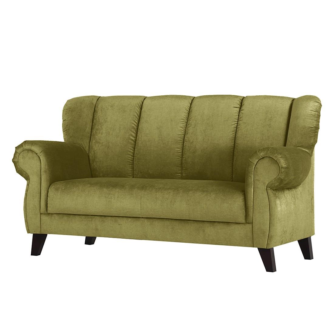 Diningsofa Comodo II (2-Sitzer) – Microfaser Dunkelgrün, Maison Belfort online bestellen